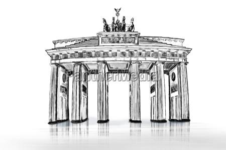 cancello portale caucasico bianco visita turistica