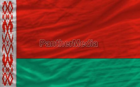 completa sventrato bandiera nazionale della bielorussia