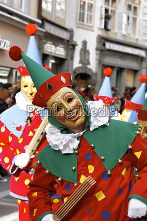 carnevale costume stolto pazzo matto tedesco