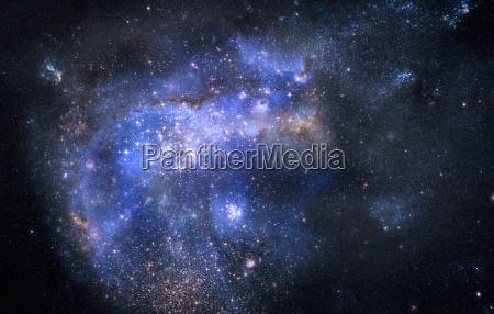 nubuta di gas nello spazio