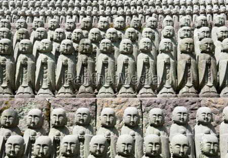 scultura statue molti