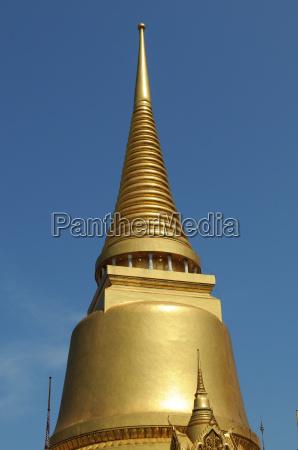 tempio dorato bangkok oro