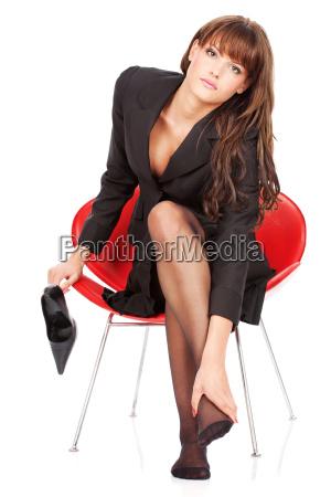 marrone dolore piede stanco donna daffari