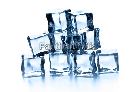gelo fresco congelare cubo congelamento raffreddarsi