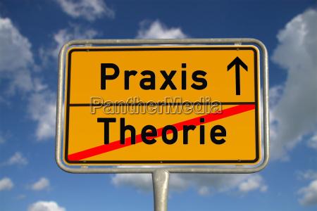 tedesco ortsschild teoria pratica