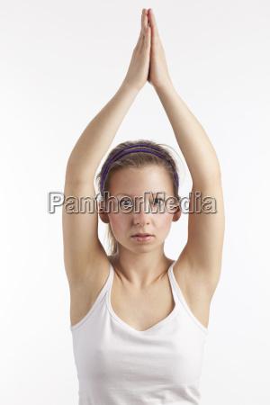donna salute concentrazione armonia yoga sottile