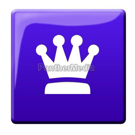 classe corona incoronazione eccellente pittogramma icona