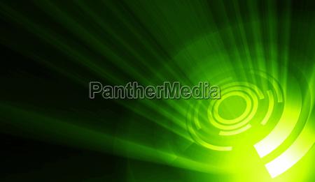 discoteca luce verde raggio di luce