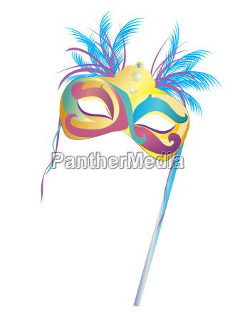 festa carnevale maschera