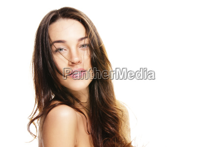 portrait of a beautiful woman with