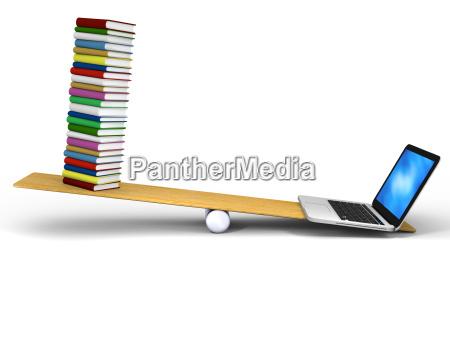 tecnologia contro libri