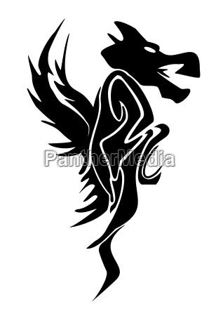 dragon graphic