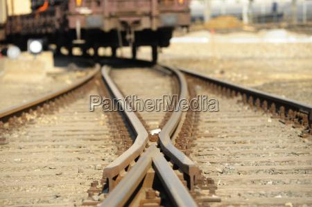 morbido rotaia ferrovia ferrovia rete ferroviaria