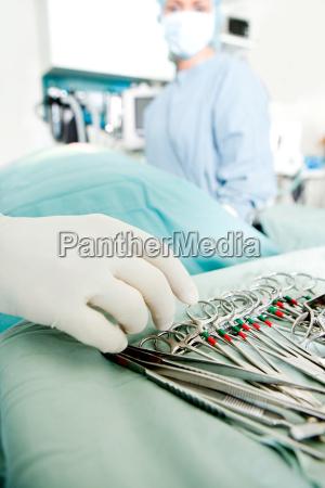 strumenti di chirurgia dettaglio