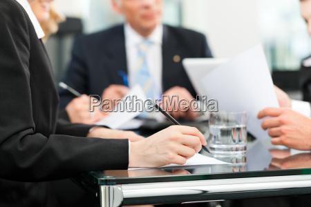 business incontro con il lavoro