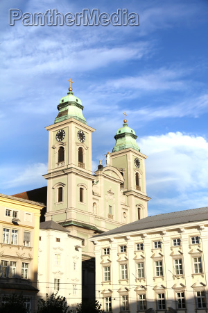 historic church in linz