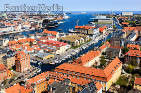 aerial, view, on, roofs, and, canals - 6862239