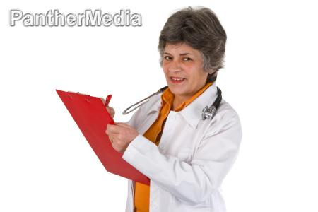 donna anziano stetoscopio medico specialista dottore