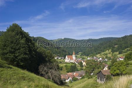 luogo di foto con la chiesa