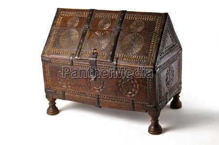 legno antico scatola prezioso patina cassone