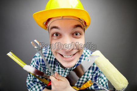 happy handyman