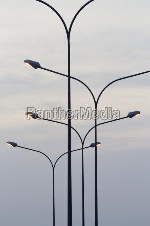 elettrico palo lume corpo luminoso lampada