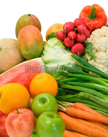 cibo accordo frutta verdura disposizione prodotto