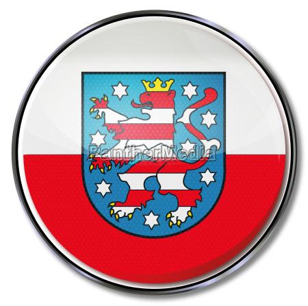 bandiera turingia stato