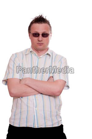 capelli occhiali pettinatura camicia arroganza fondale