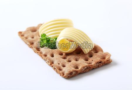 uno ricciolo margarina frullare burro