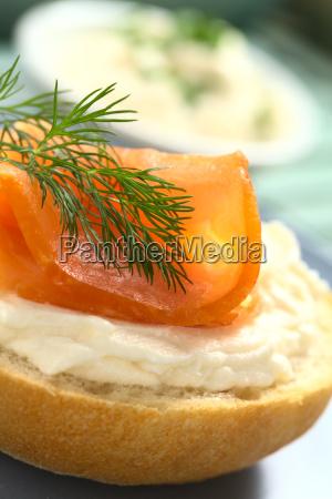 pane pesce panino rosetta salmone occupato