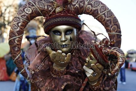 carnevale costume mascherata maschera venezia faschingsumzug