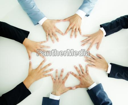 le mani degli imprenditori