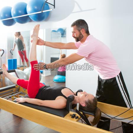 pilates aerobico allenatore uomo personal a