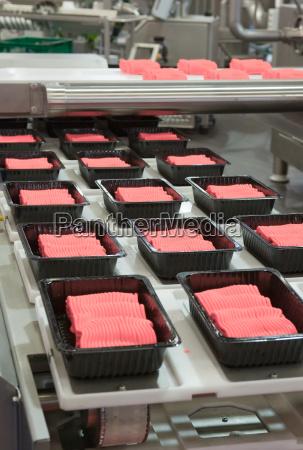 produzione alimentare industriale