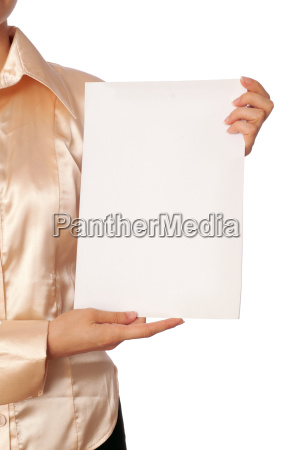 carta bianca bianca