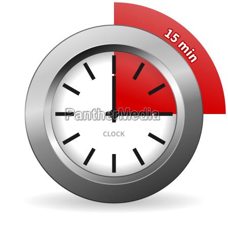data illustrazione ora minuto misura numero