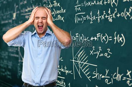 insegnante disperato