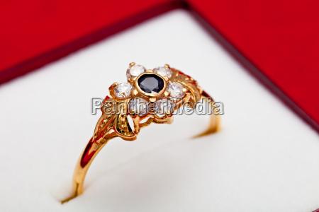 anello oggetto primo piano close up