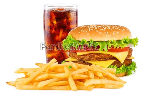 menu cheesesburger
