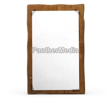 legno caucasico bianco sopra comunicazione perpendicolare