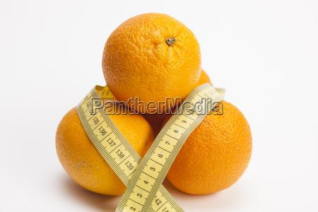 oranges and massband