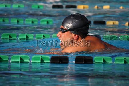 profilo concorrenza piscina cuffia nuoto a