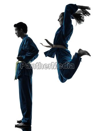 karate vietvodao arti marziali uomo donna