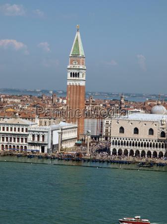 venezia piazza italiano quadrato canale di
