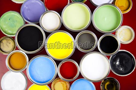 colore spazzola dipingere verniciare decorare pitturare