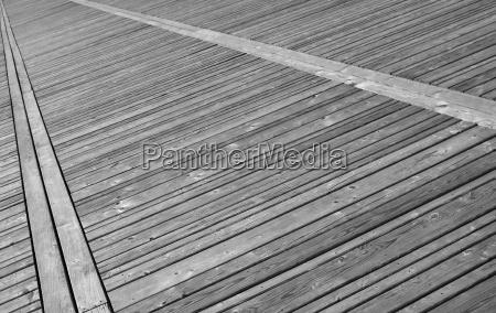 ponte venatura tavole pavimenti via terreno