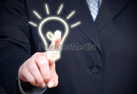 potenza elettricita energia elettrica lampadina innovazione