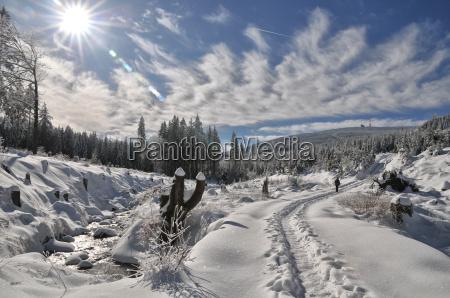 escursione invernale a chunk