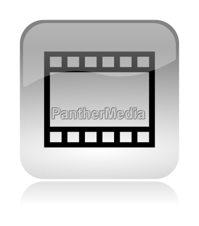 film and movie web interface icon